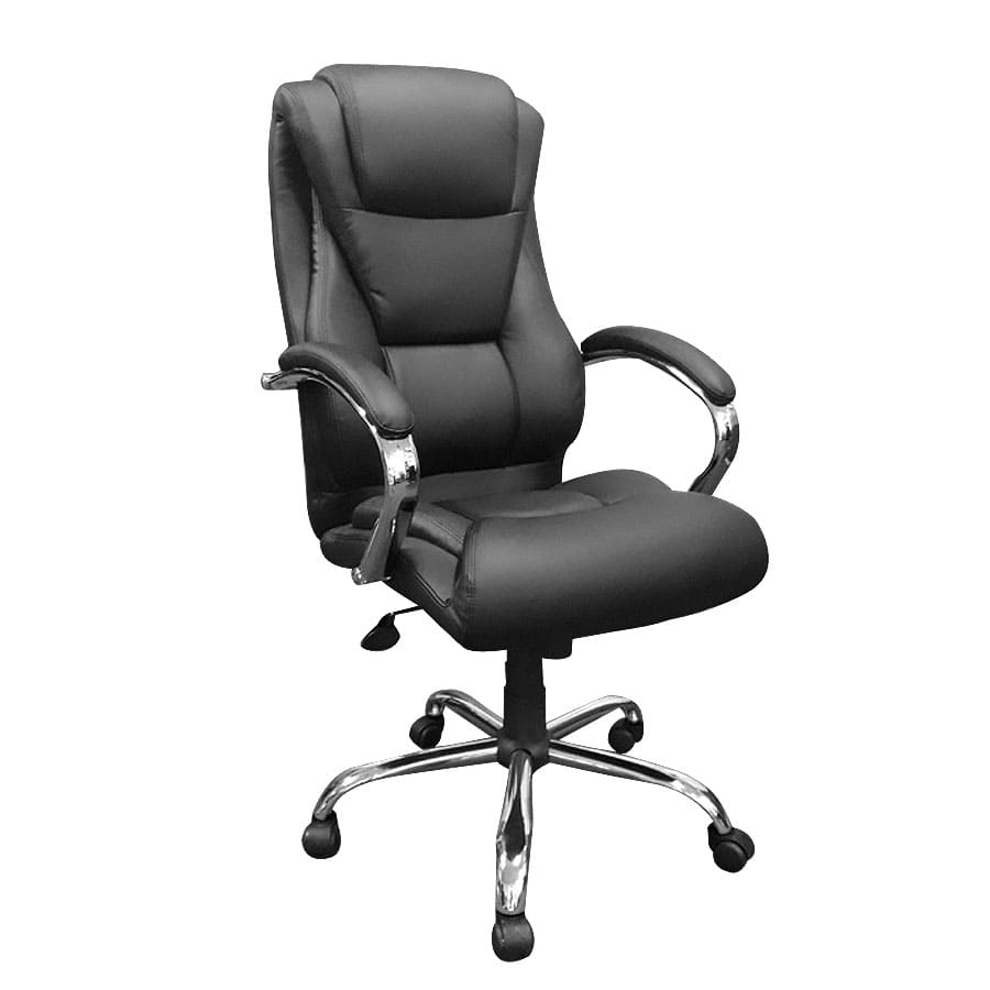 Ergodynamic Boss Chair Executive High Back Man Made Faux Leather Office Chair Cost U Less