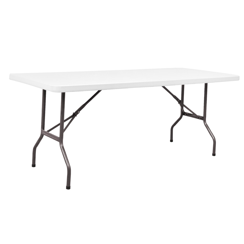 - SUMO ST-7230S1 6ft Solid Top Rectangular Folding Plastic Table